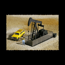 "N Scale: ""WALKING BEAM/HORSEHEAD OIL PUMP"" - CORNERSTONE KIT 933-3248"