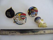 Vintage Louisiana Balloon Festival & Airshow Pins