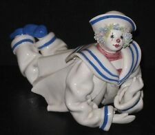 ~Sailor Porcelain Clown Figurine Made in Italy for Gump's San Francisco~
