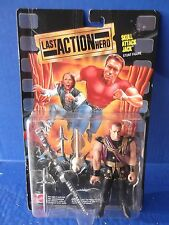 "Last Action Hero ""SKULL ATTACK JACK""  Stunt Figure (Mattel 1993)"