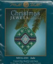 Christmas Jewels Jade Ornament by Mill Hill Bead Kit
