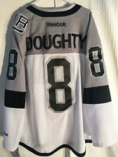 Reebok Premier Jersey Los Angeles Kings Drew Doughty Stadium Series Grey sz L