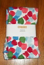 NEW GYMBOREE BURST OF SPRING COLORFUL WATERCOLOR DOT PRINT LEGGINGS SIZE 6
