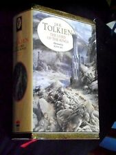 J.R.R.TOLKIEN ''THE LORD OF THE RINGS '' ILLUSTRATED by ALAN LEE 1991 HBDJ