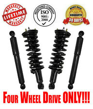 Front Complete Struts and Rear Shocks for Nissan Xterra 2005-2011 4WD ONLY