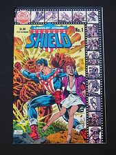 Lancelot Strong, The Shield #1  NM  1983  Red Circle Archie  High Grade Comic
