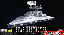 STAR DESTROYER STAR WARS VEICOLO modello 111mm KIT FIGURE BANDAI JAPAN