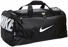 Nike Air Max Team Training Duffel Bag Medium Sports Holdall Gym Travel Bag Black