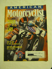 October 1999 American Motorcyclist Magazine  (BD-46)