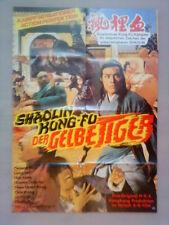 Filmplakat : Shaolin Kung-Fu Der gelbe Tiger
