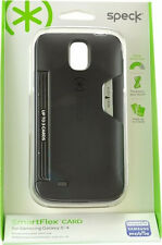Speck Products SmartFlex Card Samsung Galaxy S4 Case - Retail Packaging - Black