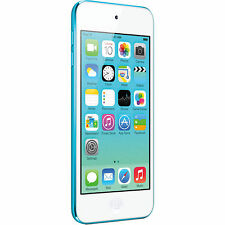 Great Condition Apple iPod touch 5th Generation Blue (32 GB) - 4QSA