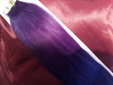 """18""""TAPE HAIR Assorted Colours HUMAN REMY HAIR EXTENSIONS 0.5G UK SELLER"""
