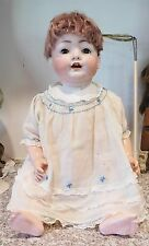 "Antique Kestner German 26""  Chubby Character Baby Bisque Head Doll Wobble Tongue"