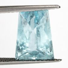 Top color Aquamarine: 7,01 CT NATURALE BLU Aquamarin dal Brasile