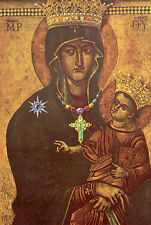 Beautiful Oil painting the Virgin Mary Madonna with child - Virgin and Child