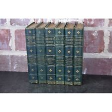 Lot of 6 19th Century Works by Byron Smollett Sterne Burns Goldsmith Chaucer - N