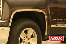FTCH205 - 14-15 Chevy Silverado 1500 POLISHED Stainless Steel Fender Trim