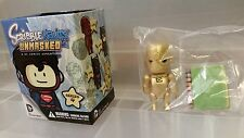 new 2014 Scribblenauts Unmasked series 4 Gold Cyborg mini figure DC Collectibles