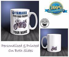 Yamaha FZS1000 Fazer Motorbike Personalised Ceramic Mug Gift (MB036)