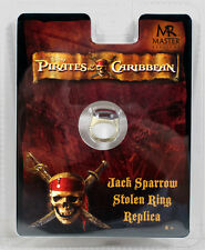 PIRATES OF THE CARIBBEAN JACK SPARROW STOLEN RING Master Replicas Prop Replica