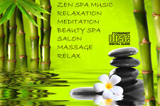 ZEN SPA MUSIC CD RELAXATION MEDITATION BEAUTY SPA SALON MASSAGE RELAX FREE POST