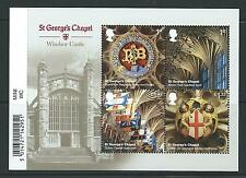 GREAT BRITAIN 2017 WINDSOR CASTLE MINIATURE SHEET WITH BARCODE UNMOUNTED MINT