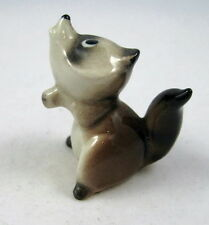 Hagen Renaker miniature made in America Racoon Baby First version retired HTF