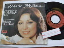 MARIE MYRIAM 1977   GRAND PRIX EUROVISION   45rpm 7ins JUKEBOX VINYL FRENCH
