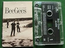Bee Gees Alone Cassette Tape Single - TESTED