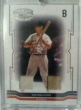 Ted Williams 2005 Throwback Threads Bat/Jersey #/25 Red Sox FREE SHIP