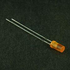 3mm Cylindrical LED Orange (5 Pack)