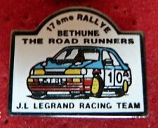 PIN'S RALLYE FORD ESCORT SIERRA COSWORTH BETHUNE THE ROAD RUNNERS RACING TEAM