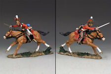 KING AND COUNTRY Napoleonic 2nd Life Guards Charging Sword Up NA264