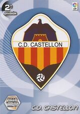 N°426 ESCUDO BADGE LOGO # CD.CASTELLON CARD PANINI MEGA CRACKS LIGA 2007
