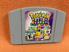 Pokemon Puzzle League *Cart Only* Nintendo 64 N64 Super Fast FREE SHIPPING!