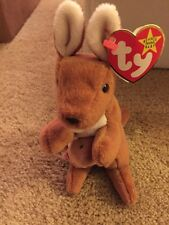 Ty Beanie Baby ~ POUCH the Kangaroo ~ New with TAGS ~ RETIRED 1996