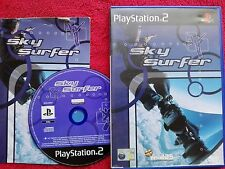SKY SURFER ORIGINAL BLACK LABEL SONY PLAYSTATION 2 PS2 PAL