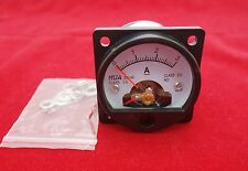 1PC DC 0-3A Analog Ammeter Panel AMP Current Meter SO45 Cutout 45mm