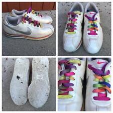 Vintage Retro  womens 80's nike cortez premium rainbow sneakers shoes