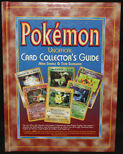Pokemon Unofficial Card Collector's Guide Hardcover (EX) 2000