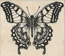 """Monarch Butterfly"" Rubber Stamp by Stampers Anonymous"