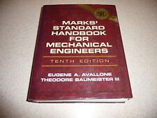 MARKS' STANDARD HANDBOOK FOR MECHANICAL ENGINEERS 10TH Ed.-Avallone & Baumeister