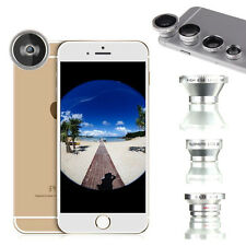 4in1 Fish Eye+Wide Angle+Macro+Telephoto Lens Camera Kit for iPhone 6S 6 Plus 5S