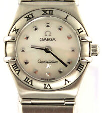 Ladies Omega CONSTELLATION My Choice  Swiss Quartz Mother of Pearl Watch 1561.71