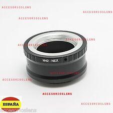 ADAPTADOR DE M42 A SONY NEX -para SONY  NEX3-5-7 NEX-VG10 DC