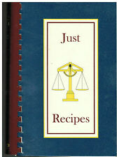 *SAN LEANDRO CA 1995 JUST RECIPES COOK BOOK *PEP *PROBLEMS IN ETHICS & POLICING