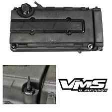 VMS BLACK ENGINE DRESS UP KIT B16 B18 VALVE COVER INSERT WASHER SEAL SPIKE NUT 2