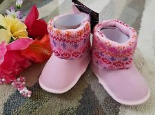 Baby Shoes Girl Infant Kid Toddler Christmas Soft Sole Crib Shoes 12-18 Months