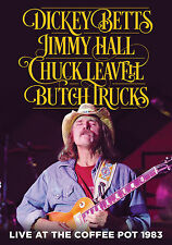 DICKEY BETTS TRUCKS LEAVELL HALL New 2017 UNRELEASED 1983 LIVE CONCERT DVD
